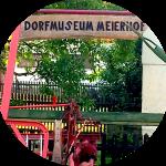 Eingangsschild des Dorfmuseums Meierhof – Museen Südniedersachsen