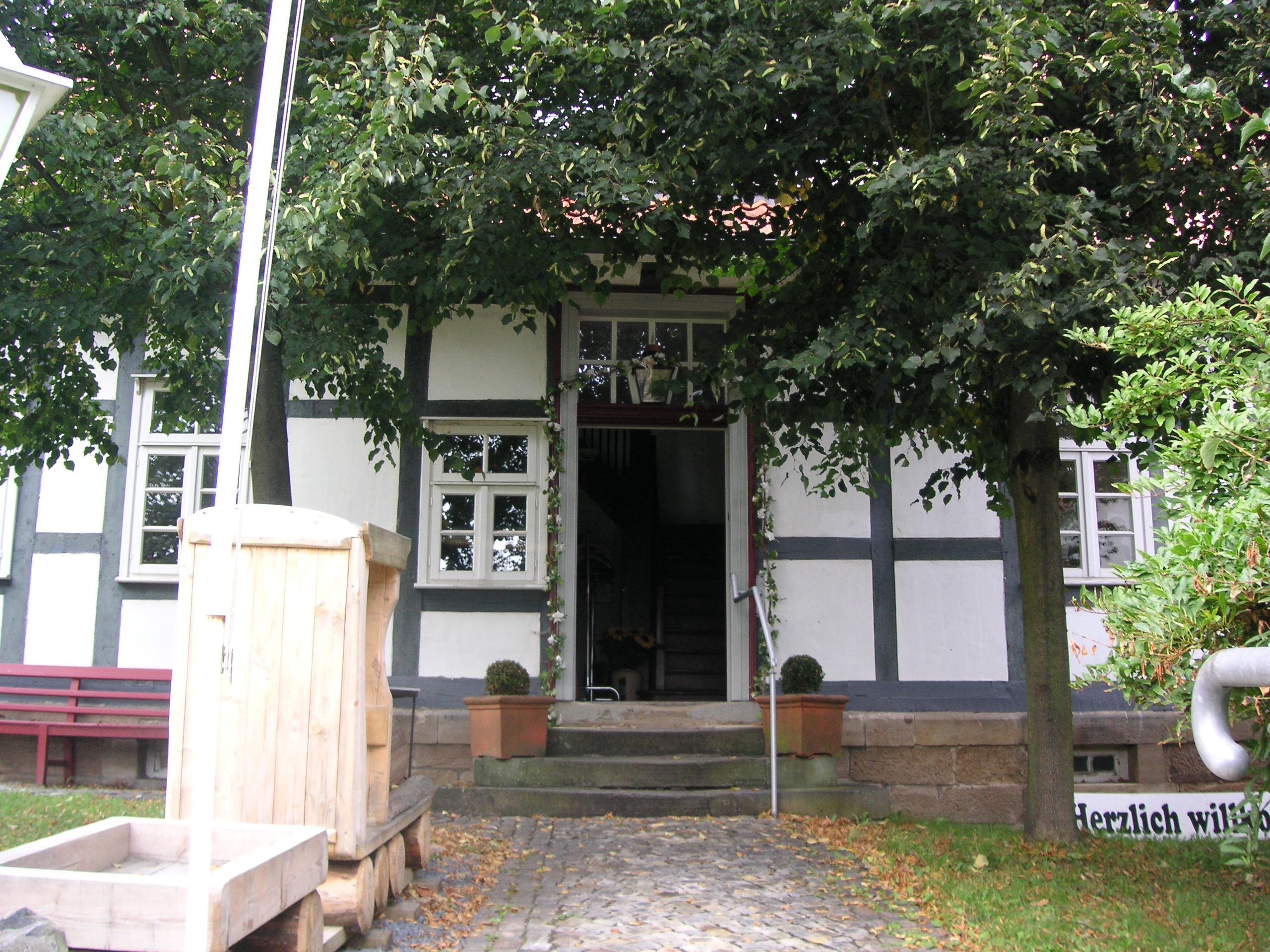 Eingang des Steinarbeitermuseums in Adelebsen