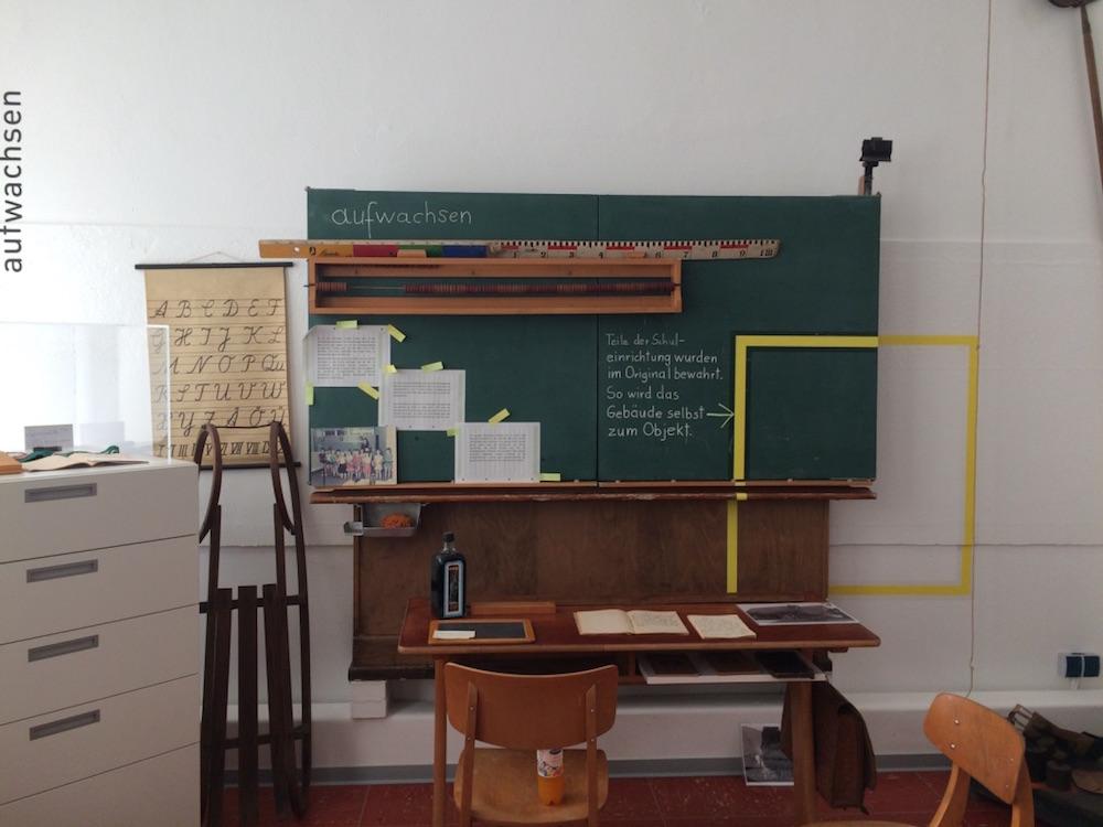 Schultafel im Heimatmuseum Exten – Heimat.Museum.Südniedersachsen