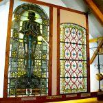 Kirchenfenster in der Historischen Sammlung Groß Schneen