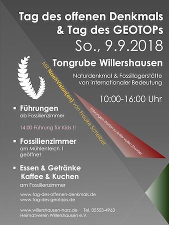 Tag des offenen Denkmals am 9.9.2018 in Willershausen