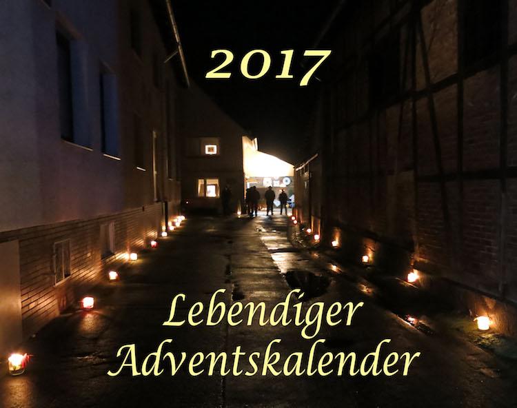 Lebendiger Adventskalener Wulften 2017 – Heimat.Museum.Südniedersachsen