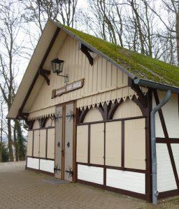 Alte Kirchentür von St. Nikolai im Heimathaus auf dem Einzelberg.
